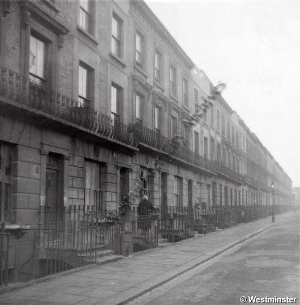 View of Woodchester Street, Paddington (1959)