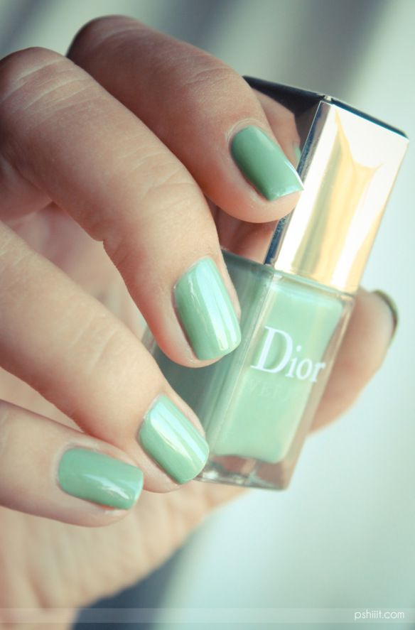 REALLY WANT IT :: Dior Waterlilly (CLICK to see her polka dot nail art w/ Essie Mojito Madness) | #pshiiit