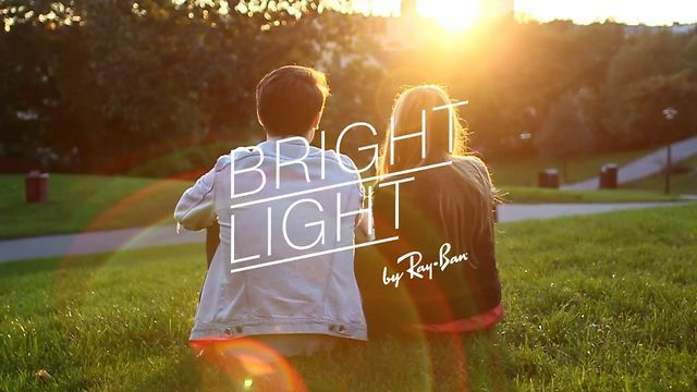 Bright Light by Ray Ban by Michal Sitkiewicz. Portfolio: http://cargocollective.com/evarickardmichal