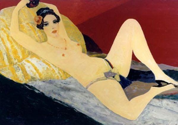 ✿ Salvatore FIUME (1915-1997) ✿ http://catherinelarose.blogspot.com/2014/01/salvatore-fiume-1915-1997.html
