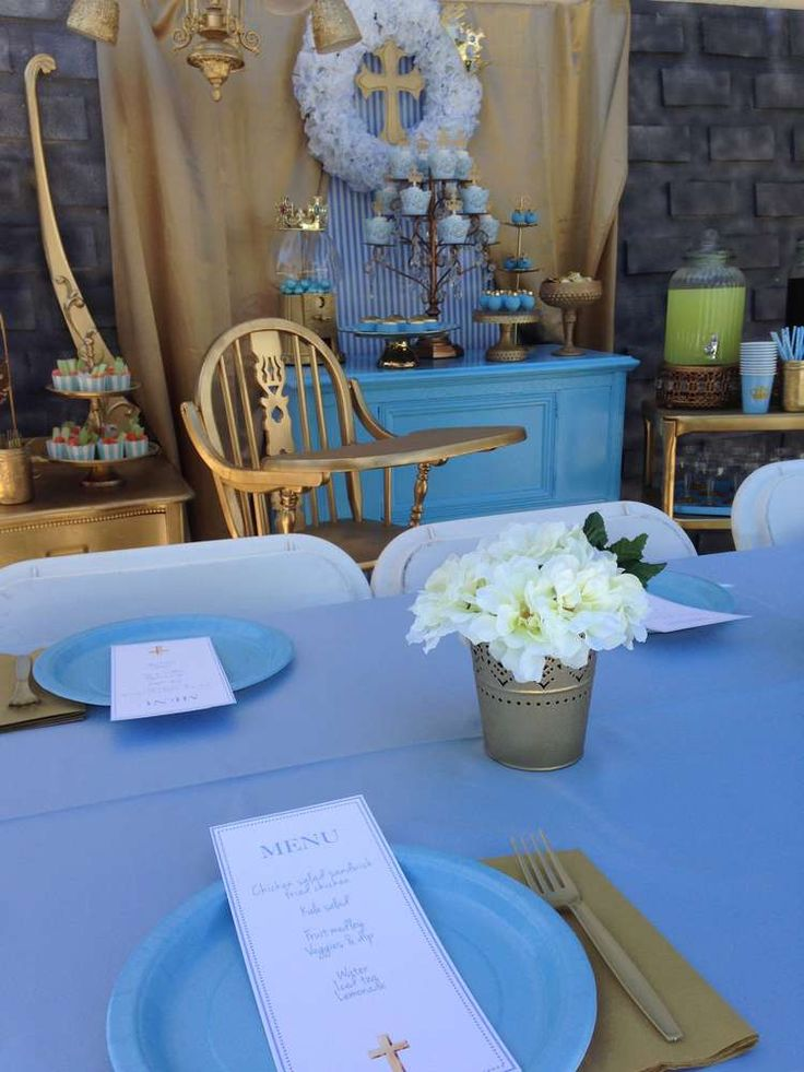 Baptism Party Ideas | Photo 1 of 21 | Catch My Party