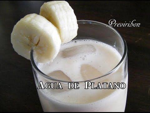 Agua de Platano * video 94 * - YouTube