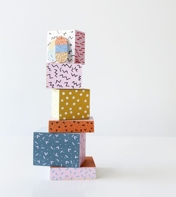 New hand painted accessories by Andrea Shaw of Stampel, created exclusively for fabulous Fitzroy store, Dagmar Rousset