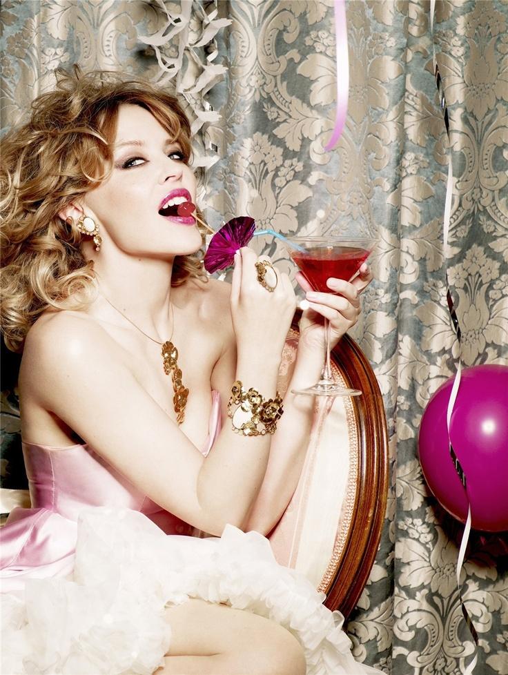Lylie Minogue by Ellen von Unwerth