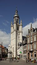 The Grote Markt, Halle