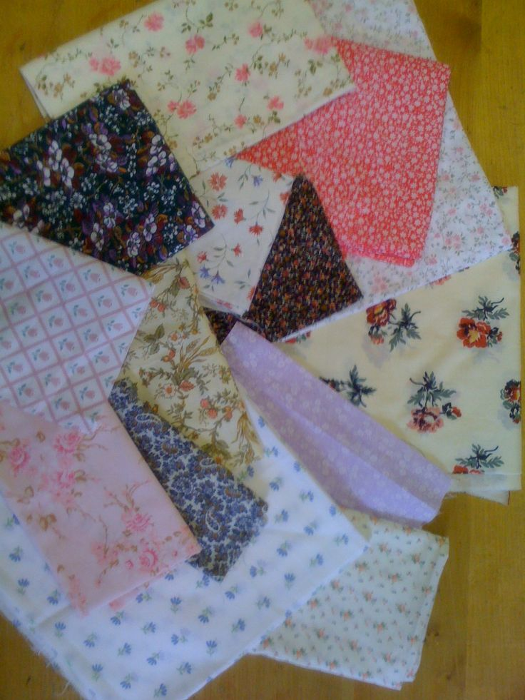 Ditsy floral prints are so cute, and what's cuter is that we're saving these prints from the bin!