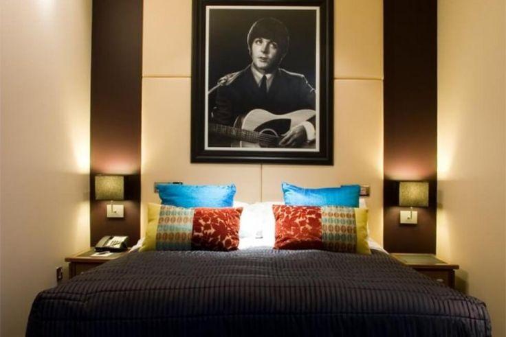 Hotel temático de los Beatles en Liverpool.