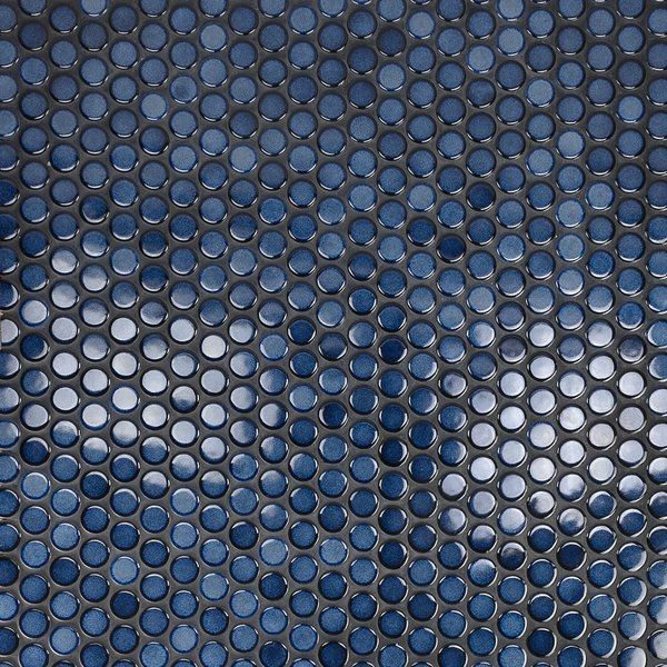 Joy Rimmed 1 X 1 Ceramic Mosaic Tile In Sapphire Blue Mosaic Tile Mosaic Wall Tiles Ceramic Mosaic Tile