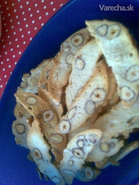 Mandľové a orieškové sušienky - Recept