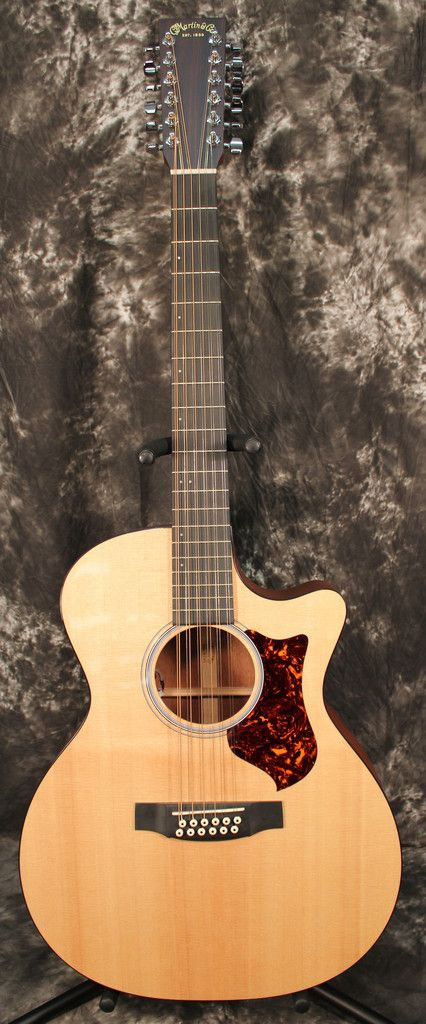 2012 Martin Performing Artist Series GPC12PA4 Grand Performance 12-String Acoustic-Electric Guitar Natural w/OHSC