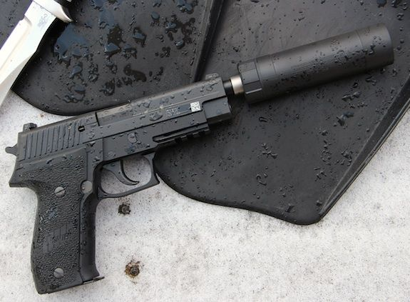 SIG ARMS M25 PISTOL W/ AAC TI-RANT 9S SUPPRESSORFind our speedloader now!  http://www.amazon.com/shops/raeind