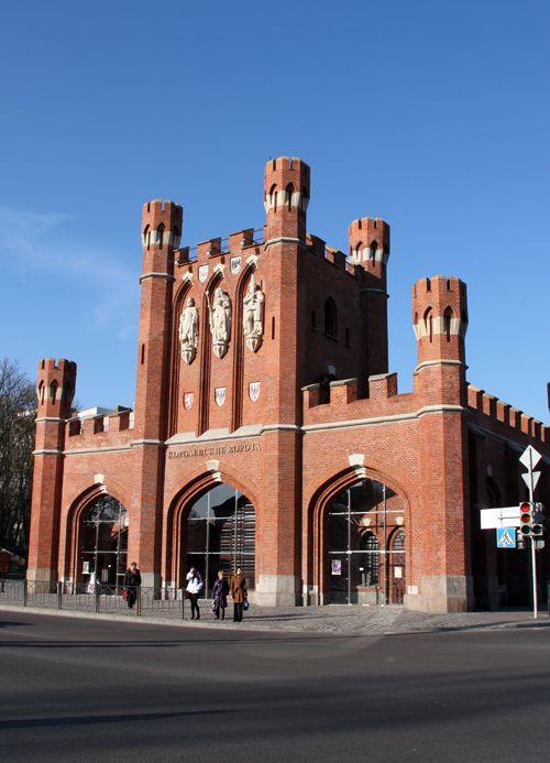 King's Gate, Kaliningrad, Russia