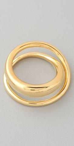 Tom Binns Gold Classic Saturn Ring