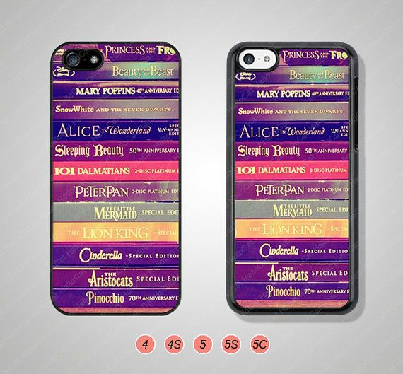 Disney Book Phone Cases iPhone 5 Case iPhone 5s Case by HalloCat, $6.99