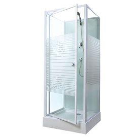 Cabine de douche Premium 80 x 80 cm