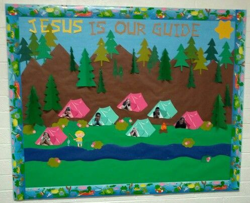 Image result for camping vbs decorations