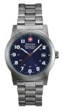 Wenger Swiss Military Men's 72908 Classic Field Blue Dial Steel Bracelet Military Watch Reviews - Wenger Swiss Military Men's 72908 Classic Field Blue Dial Steel Bracelet Military Watch    Swiss-QuartzCase diameter: 41 mmLuminous hands, numbers, mark