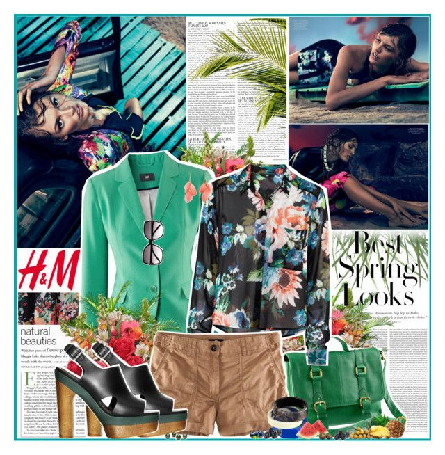 Inspired by H&M by ellchy89 on Polyvore featuring polyvore, fashion, style, Lipsy, H&M, Oris, McGinn, PLANT, clothing, h&m and hm