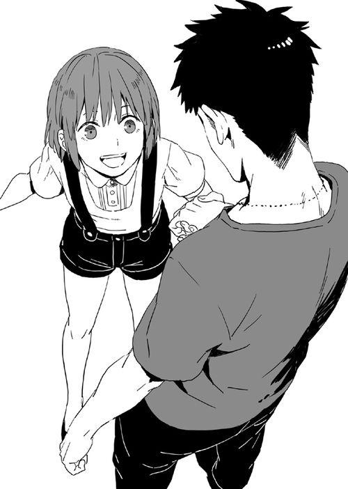 Gangsta manga anime boy anime girl couple cute gangsta ...