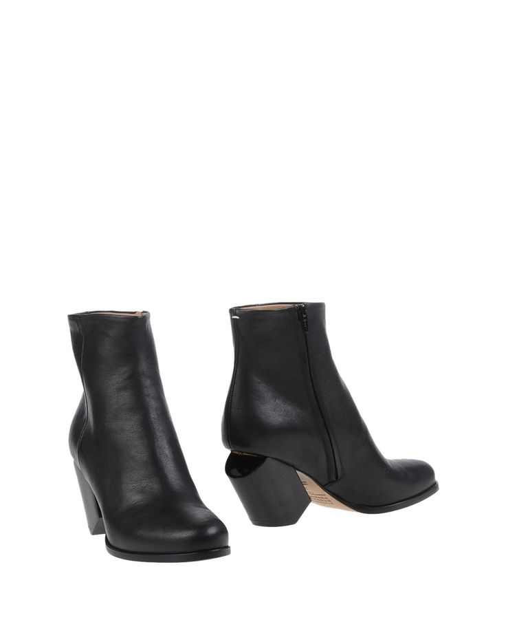 Maison Margiela Ankle Boots in Black | Lyst