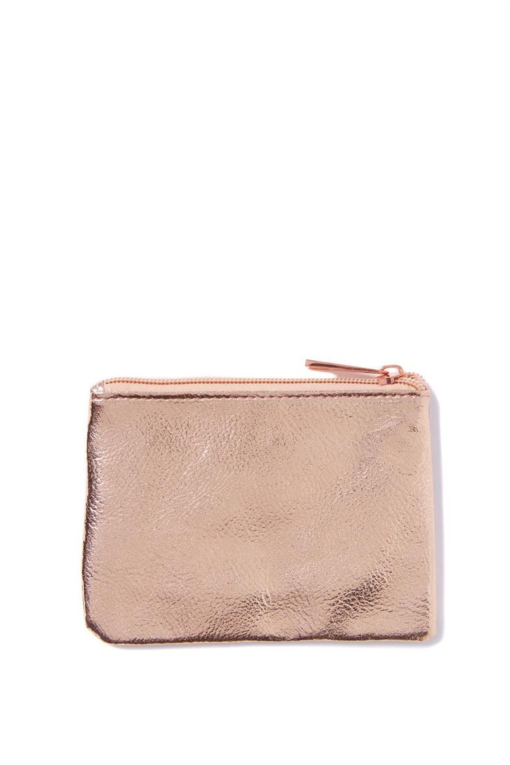 OWN: Rose gold coin purse