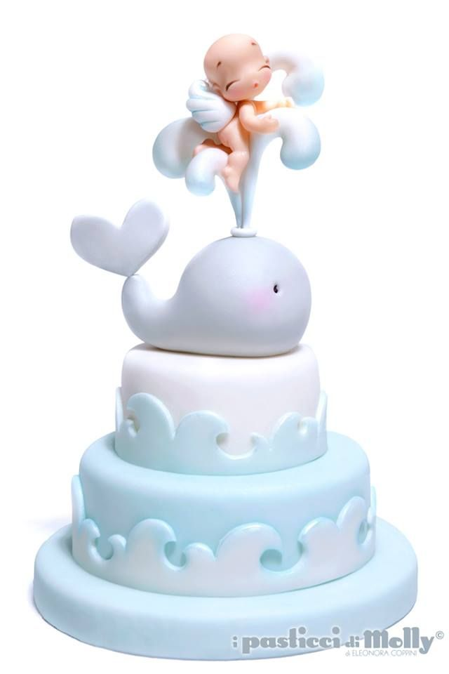 Whale and Baby Cake