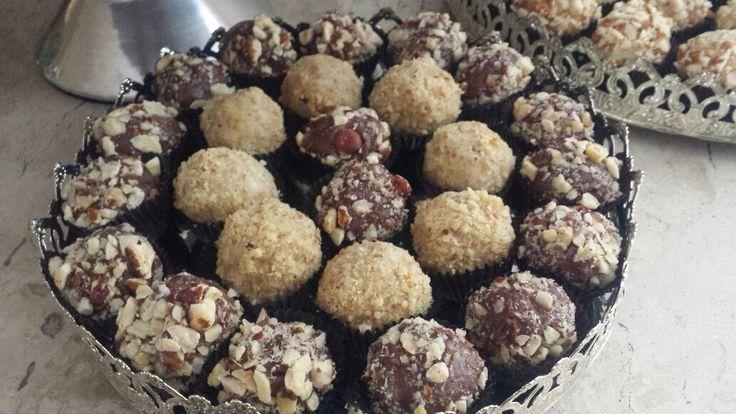 Brigadeiros gourmet brigadeiro de nutella com avelã brigadeiro de amêndoas