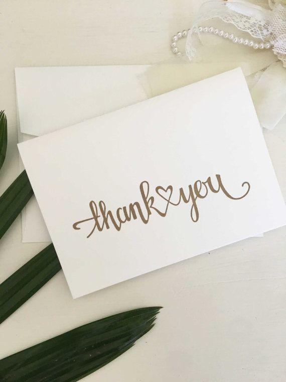 Letterpress Wedding Thank You Cards Engagement Card Sets