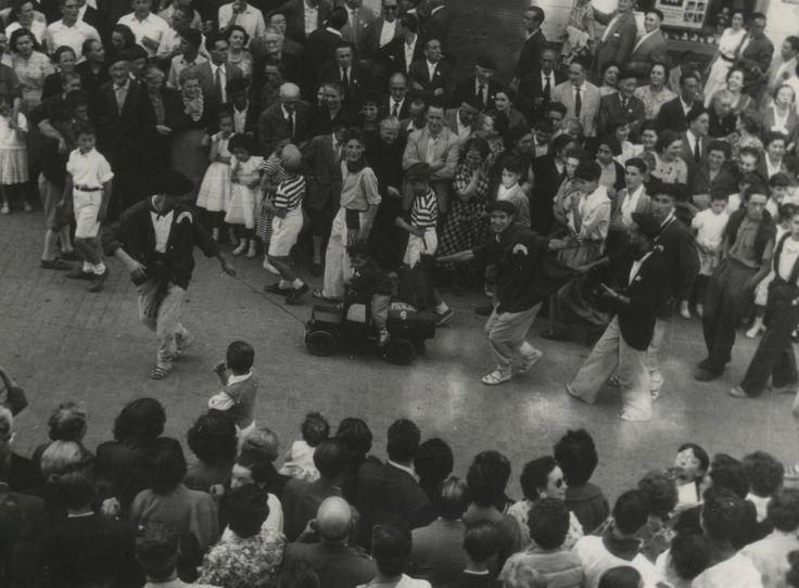 De nuestra fototeca fiestas de La Blanca en los años 60. #GasteizkoJaiak2015 #LaBlanca2015