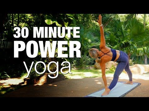 Five Parks Yoga - 30 Minute Power Yoga - YouTube                                                                                                                                                      More