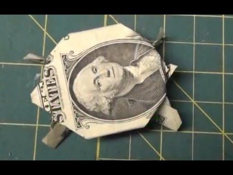 92 best images about money origami on pinterest for Easy dollar bill origami fish