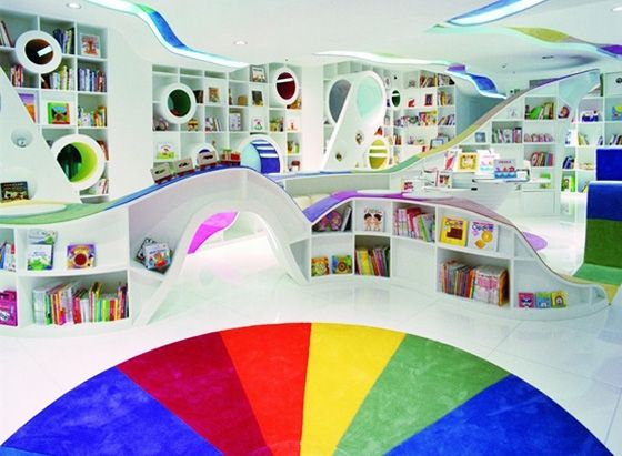 Kid's Republic Book Store in Beijing, China