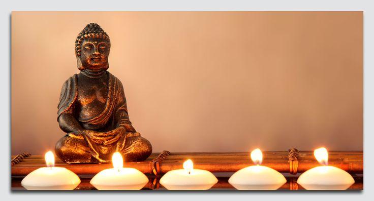17 best images about led canvas art schilderij met led kamerscherm boeddha met sfeervolle led verlichting