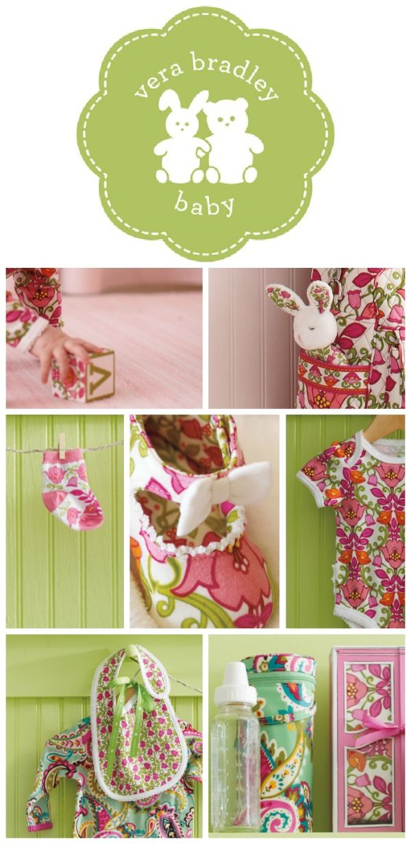 Coming soon: Vera Bradley Baby. Sneak peek at the baby goodies.