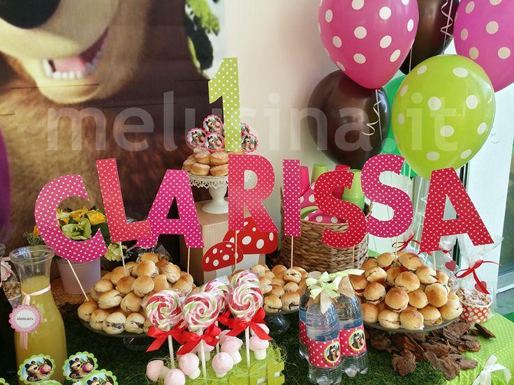 Masha e Orso: una festa nel bosco - Party Shop di Melusina Feste