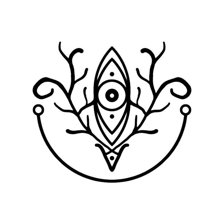 "qedavathegrey: "" Sigil of the Stag ""Symbol of the solitary"