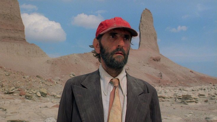 paris, texas. i fell in love with this film as a teenager, mostly for its atmosphere and sound track (ry cooder), however, i watched it recently and found myself bowled over by it's depth and take on relationships - a true piece of art.