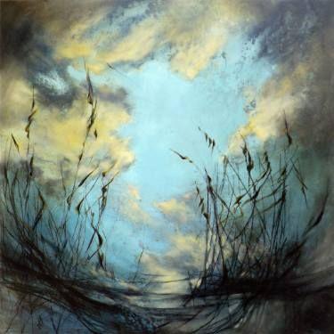 """Saatchi Art Artist Marjan Fahimi; Painting, """"Mellon Collie"""" #art"""