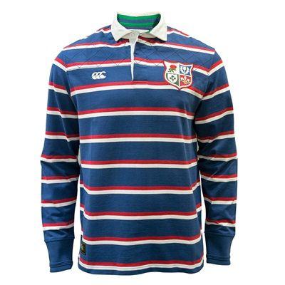 British & Irish Lions 1888 Stripe Rugby Jersey - Faded Navy