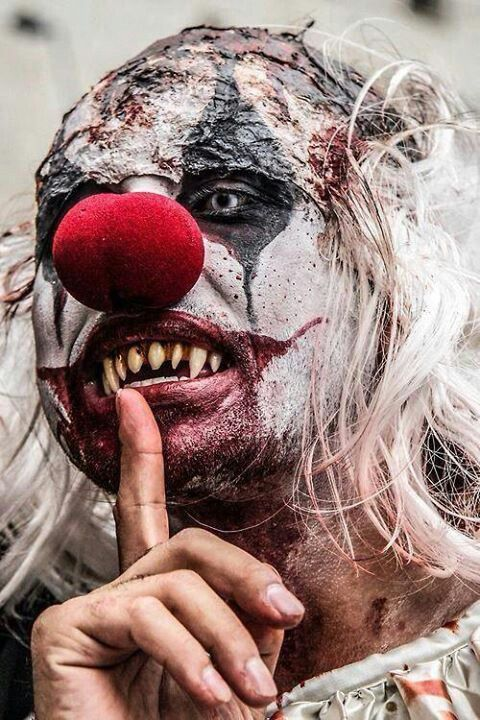 Scary Clown, but the bad teeth make it!