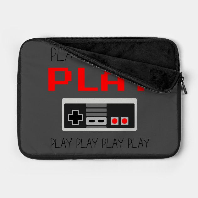 Show off your love of the game with this Players Gonna Play NES inspired Laptop Case
