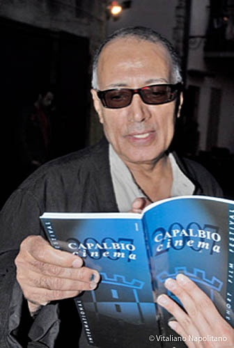 Abbas Kiarostami al Capalbio Cinema International Short Film Festival 2007 #capalbiocinema #capalbio #piratiacapalbio @mottolese