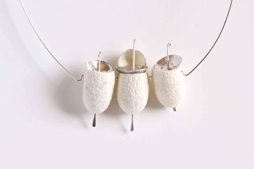 Lyn Cooke's work, 'Precious by Design' uses silkworm cocoons ...