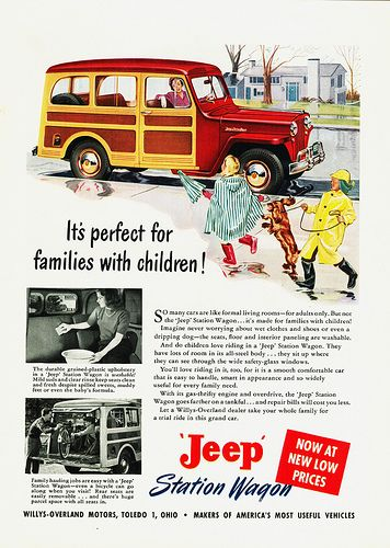 1949 Willys Jeep Station Wagon Ad
