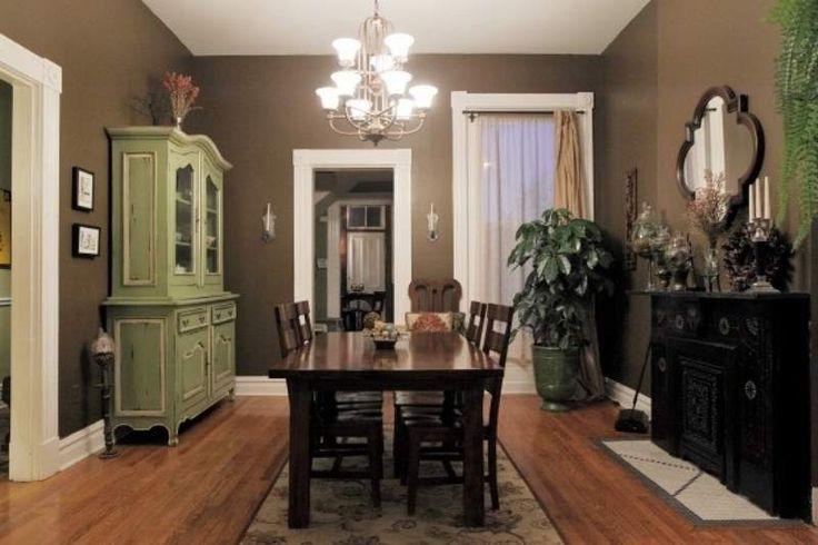Το σκούρο καφέ χρώμα στο σπίτι   Jenny.gr