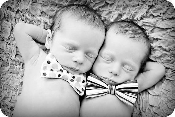 Newborn Baby Boy Photo Prop Bow Tie by MitziKnitz on Etsy, $16.00