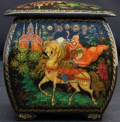 russian lacquer art