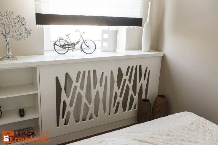 Panel dekoracyjny - zdjęcie od Drewland Pracownia Mebli - Sypialnia - Styl Nowoczesny - Drewland Pracownia Mebli