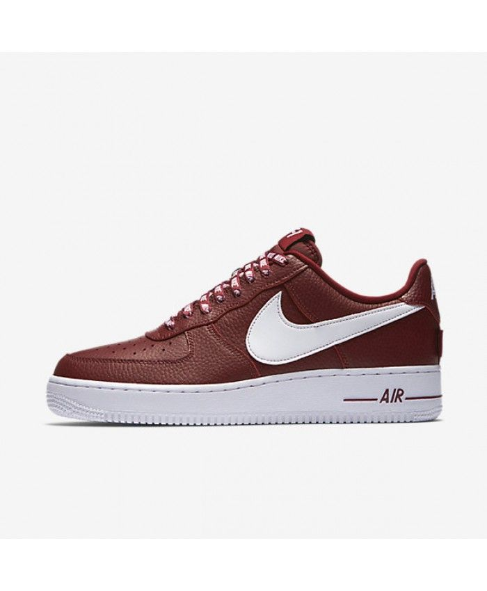 size 40 2eb30 d102d Nike Air Force 1 Low 07 NBA Team Red White 823511-605