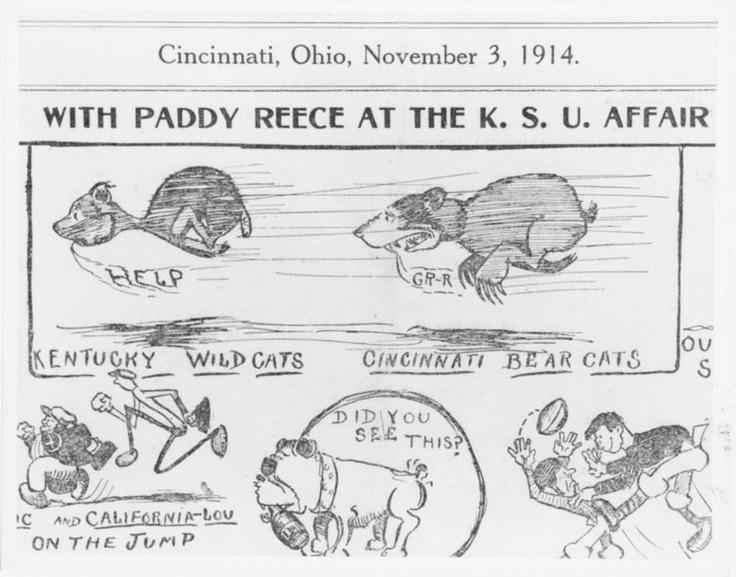1914, UC's First Bearcat